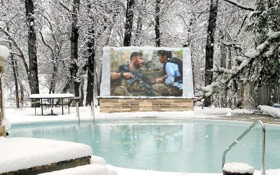 The Only Outdoor TV Engineered for Freezing Cold Temperatures